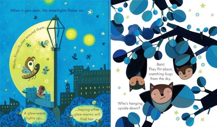 """Pagine del volume """"Di notte"""", tratte dall'edizione inglese del libro"""